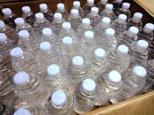 「水」も大事な備蓄品