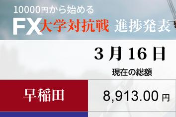 1ドル107円~105円台の「攻防」「動いた」明治大、復活の狼煙か!?