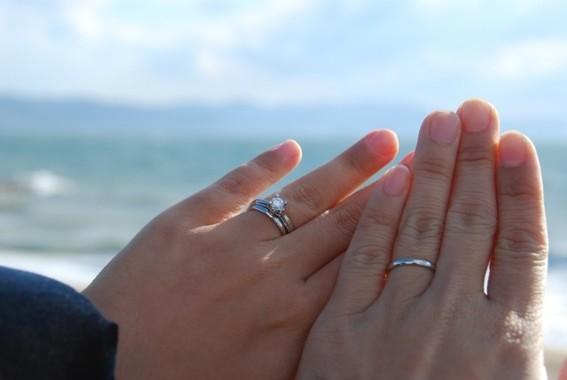 男性も、結婚指輪はどんどん着けて!