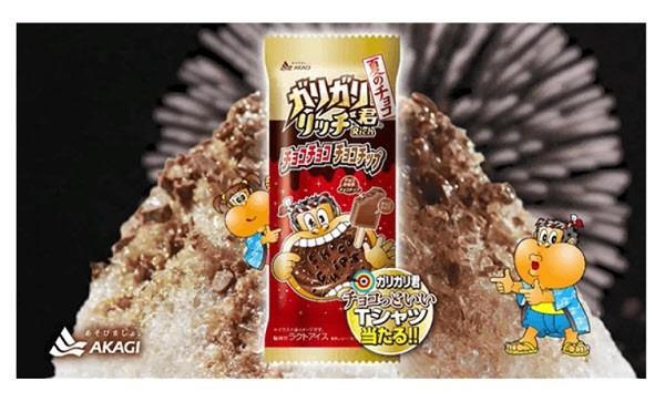猛暑で「ガリガリ君」売れ行き好調(画像は、5年ぶりに発売した「ガリガリ君 リッチチョコチョコチョコチップ」)