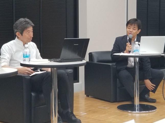 橋田さんと今川さんのセッション