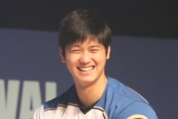 大谷翔平選手、「two‐way」の復活は2020年か?(写真は、2017年1月撮影)