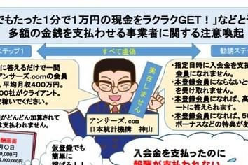 「好きな食べ物は?」アンケートに答えるだけで月収1000万円! なぜこんなネット詐欺にひっかかるのか?