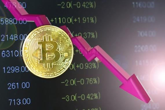 仮想通貨市場が急落、80兆円が消えた!