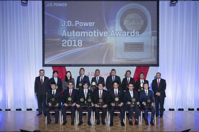 「日本自動車トータルアワード2018」の授賞式
