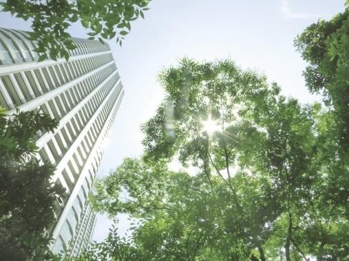 キャプション 「大阪万博2025」効果、ベイエリアにマンションが立ち並ぶかも?(写真はイメージ)