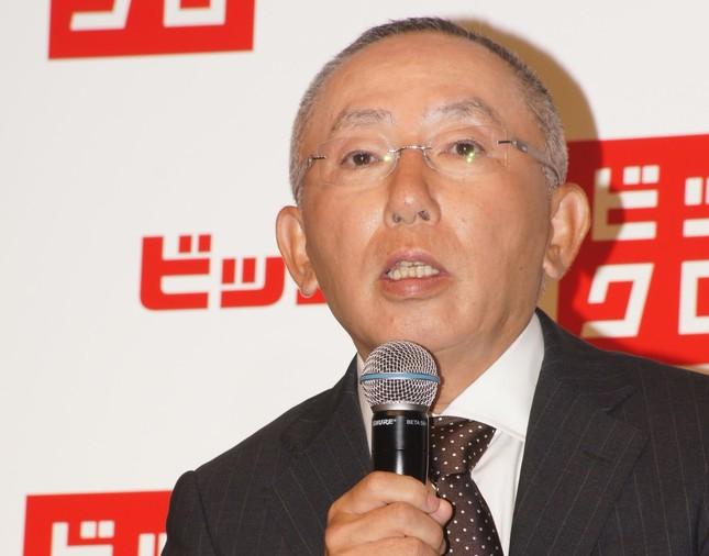 1位の柳井正氏(2012年9月撮影)