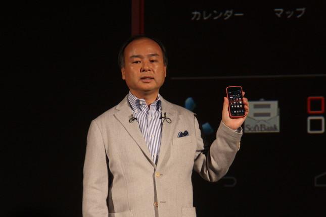 2位の孫正義氏(2012年10月撮影)