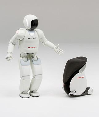ホンダの二足歩行ロボット「ASIMO」