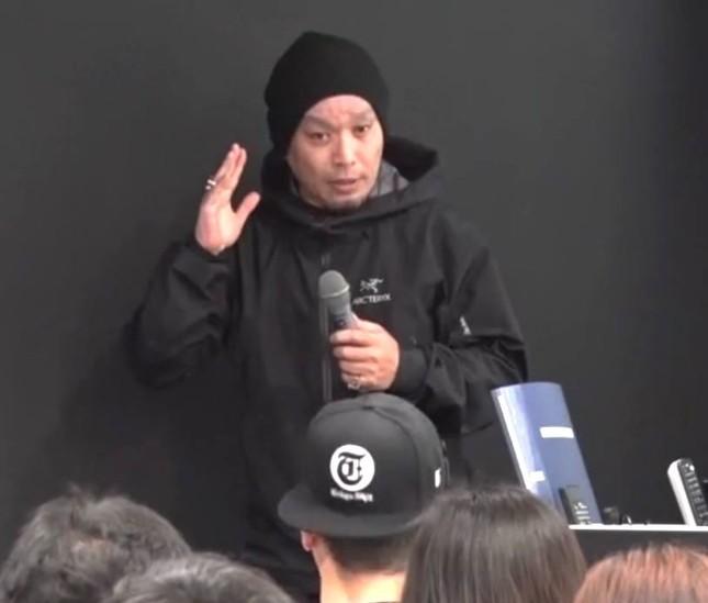 「常にひらめいてほしい」という長谷川大雲さん