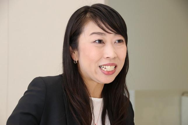 マネックス証券の清明祐子社長は「これまで性別や年齢を意識することはなかった」と話す