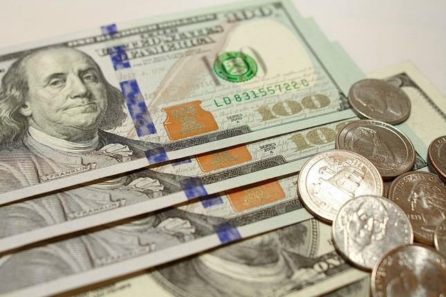 ドル急落、1ドル=105円台に!