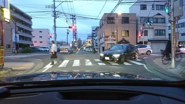 交差点は危険がいっぱい!