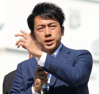 「育休宣言」した小泉進次郎環境相(2017年撮影)