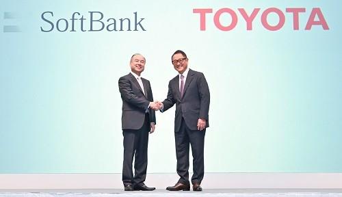 ソフトバンクとトヨタ自動車は将来に向けた新事業で共同出資