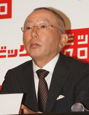「ユニクロ」の柳井正会長(2012年9月撮影)