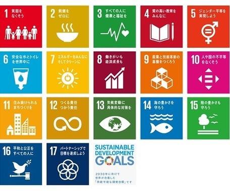 17項目の「持続可能な開発目標」