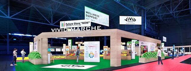 近未来のスーパーマーケットを体感できる!(画像は、Future Store