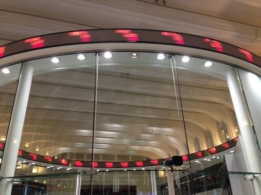 施設全体がミュージアムになっている「東証Arrows」