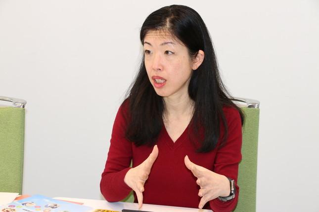 リクルートジョブズの宇佐川邦子さんは「見えない不安を可視化する「からだ測定」を開発した