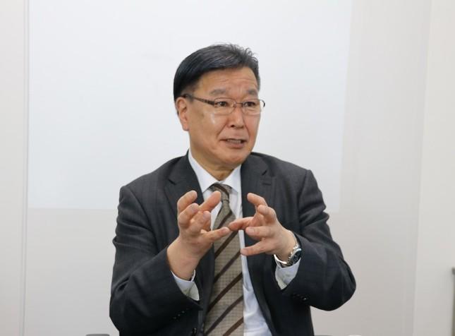 フィリピンのIT大手との業務提携について語るオートマティゴの天野進社長