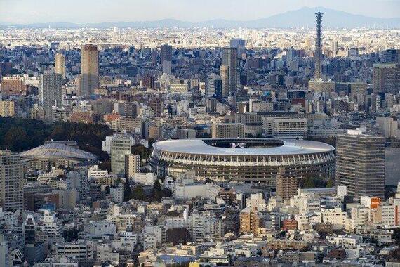 2021年、TOKYOに五輪はやって来るのか!?(写真は、新国立競技場)