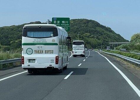 企業向けに通勤用「契約送迎バス」を提案