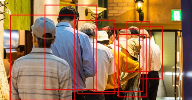 AIで混雑状況を分析(画像はイメージ)