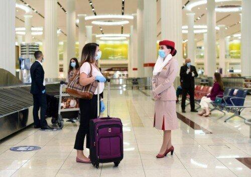 エミレーツ航空は、利用客が感染した場合の医療費などを負担する