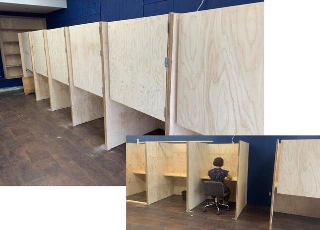 島根県出雲市のコーヒー店、「完全個室」のコワーキングスペースを設けた。