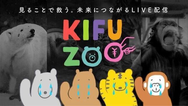 コロナ禍の動物園・水族館を支援のライブ配信を行うKIFU ZOO