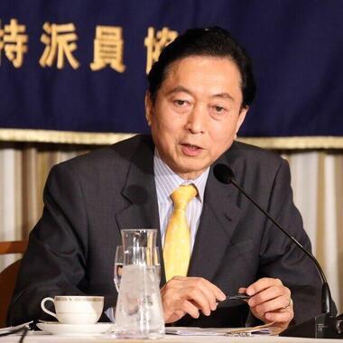 オバマ前米大統領にとって鳩山由紀夫元首相は「厄介な同僚だった」?(2015年撮影)