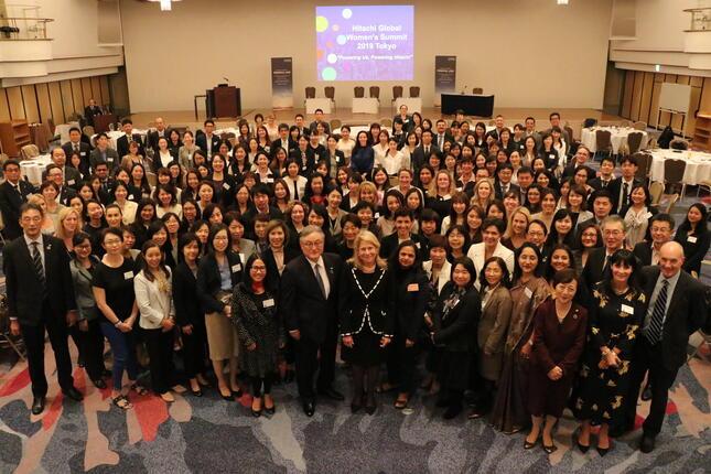 ジェンダーダイバーシティの啓発に女性社員が集まった「Global Women's Summit」