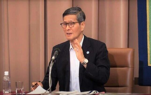 「勝負に出た」尾身茂分科会会長(2020年6月、日本記者クラブの会見動画)