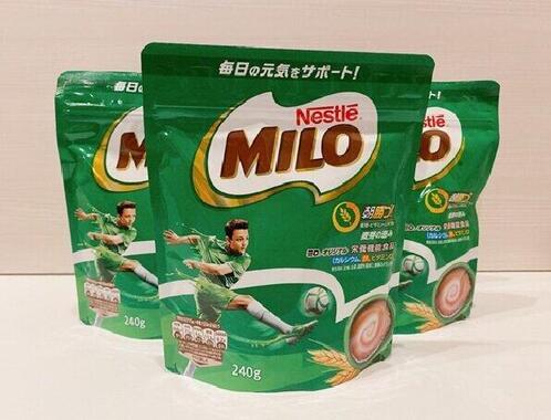 カルシウムや鉄分が豊富に含まれている麦芽飲料「ミロ」