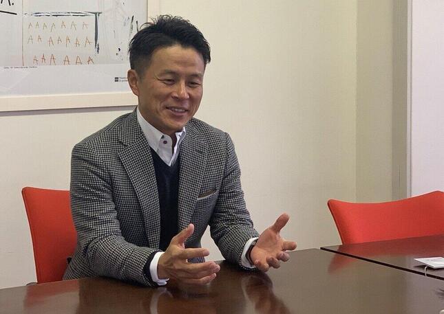 「BaaSが通販番組の制作サイドに大きなインパクトになった」と話す産直の三好正弘社長