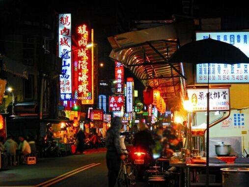 台湾は新型コロナウイルスの猛威を封じ込めた(写真は、台北の夜景)
