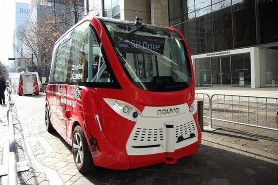 XaaSの代表例がMaaS。自動運転バスはその核となる試みの一つだ