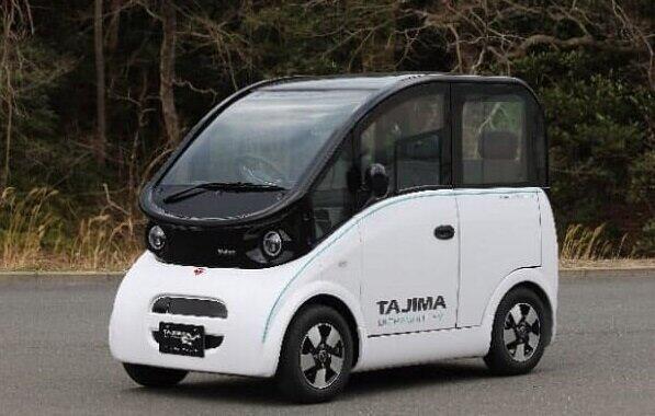 出光興産とタジマモーターが開発中の超小型EV
