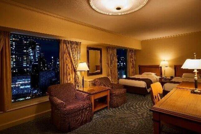長期滞在プランを設定したリーガロイヤルホテルの客室イメージ