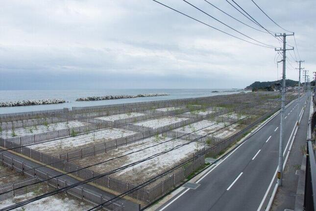 東日本大震災、福島第一原発の事故から、まもなく10年が経つ(福島県富岡町周辺)