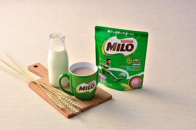3か月ぶりに販売が再開された「ミロ」
