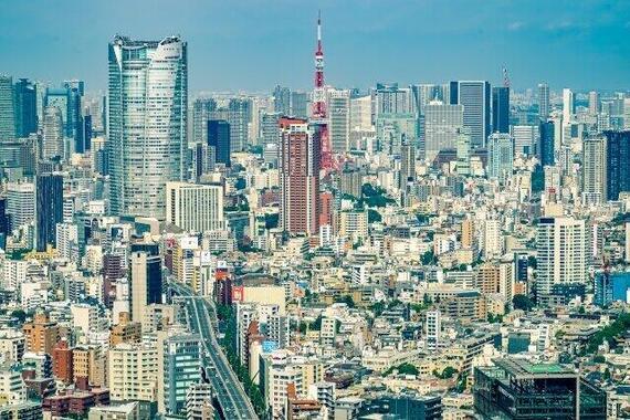 緊急事態宣言が続く東京都