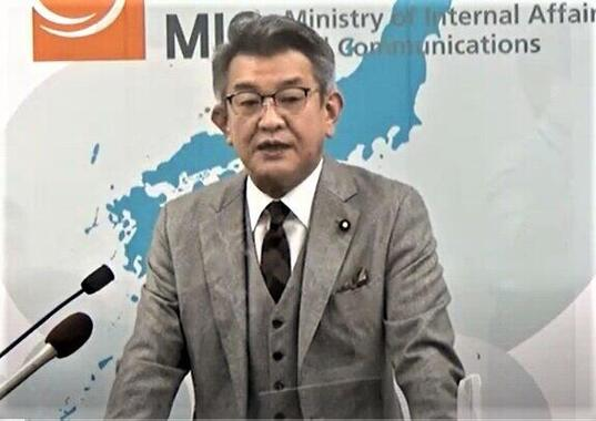 「自分がリーダーシップを発揮して携帯料金の値下げに取り組む」と発言した武田良太総務大臣