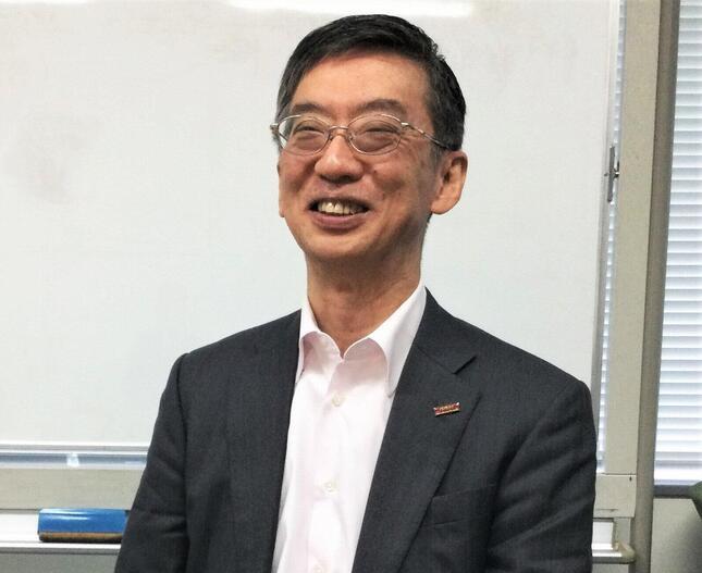 「プロフェッショナルの部下を尊重したい」という東レ経営研究所社長の髙林和明さん