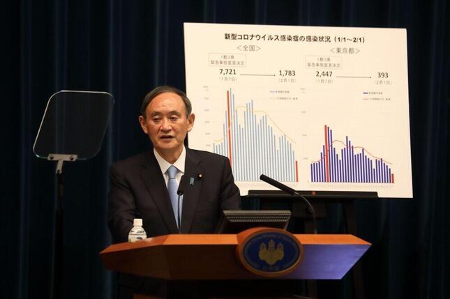菅義偉首相は「緊急事態宣言」を解除するのか