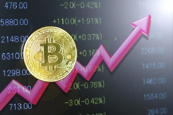 ビットコインは急上昇!!