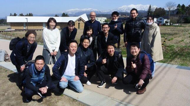 富山県主催のワーケーションツアーに参加した「仲間」たち