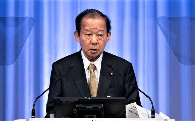 二階俊博・自民党幹事長の五輪中止発言の真意は?(2021年3月、自民党公式サイトより)