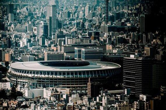 東京五輪を開くつもりか?(画像は、新国立競技場)